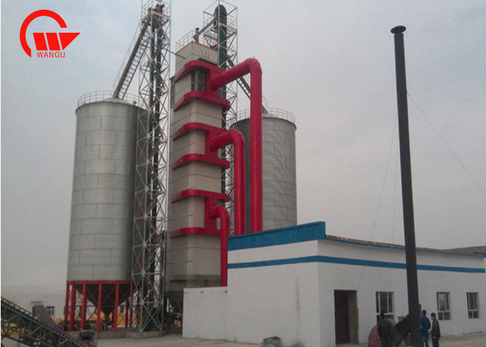 Stainless Steel Agricultural Dryer Machine , 6 - 10m Maize Drying Equipment